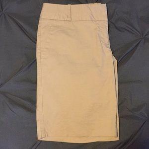 Tan Dress broad shorts